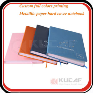 Sewing Binding Hardcover Printing Leather Cover Notebook pictures & photos