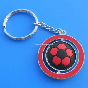 Antique Silver Metal Football Keychain, Soccer Team Keyrings (ASNY-JL-KC-091103) pictures & photos