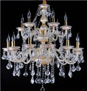 Home Decoration Candle Crystal Chandelier (RHT-CC01)