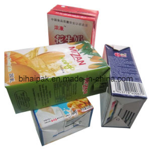 Packaging Paper for Beverages or Milk pictures & photos