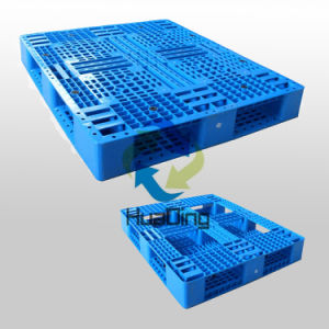 L1200*W1000*H150mm HDPE/PP Plastic Pallets; Plastic Tray, Double Sides Heavy Pallet; Open Deck pictures & photos