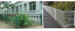 Nice Appearance Vinyl Coated Garden Fence
