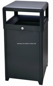 Good Metal Outdoor Dustbin (DL63) pictures & photos