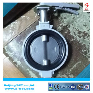 KITZ Aluminum Wafer Butterfly Valve with Handle JIS Standard SS316DISC and Stem BCT-ALU-BFV316 pictures & photos