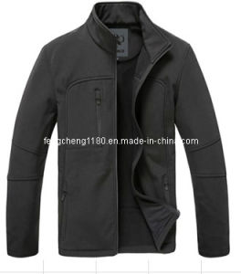 Man Casual Softshell Jacket