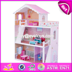 New Design Girls Miniature Toys Wooden Doll House Kits W06A083 pictures & photos