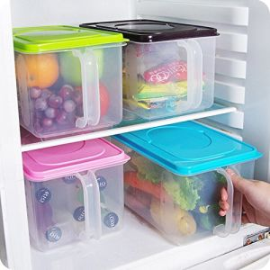 Airtight Containers for Flour and Sugar Kitchen Food Crisper Food Container Box Refrigerator Storage Box Box with Handle pictures & photos