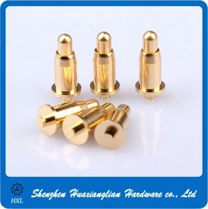 High Quality Gold Plating Brass Spring Loaded Pogo Pin pictures & photos