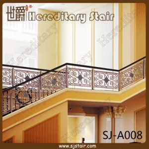 Simple Pattern Aluminum Guardrail for Grand Staircase (SJ-A008) pictures & photos