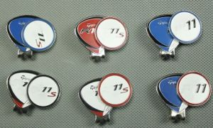TM 11 Golf Cap Clip Golf Accessory Ball Marker on The Cap pictures & photos
