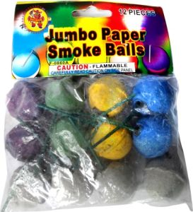 Color Smoke Ball Fireworks (clay shell) pictures & photos