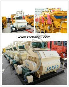 0.5m3 Concrete Mixer Machine (JS500) for Concrete Mixing Plant pictures & photos