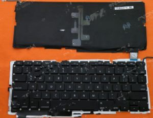 Laptop Keyboard Layout for Apple (Us MacBook PRO A1286 Backlit) Version 2,Pulled
