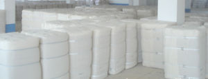 "CVC55/45 40s*40s 110/60 66"" Bleached Bedding Fabric"