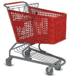 Plastic Shopping Trolley (SM-SS10)