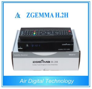 Zgemma H. 2h Combo Decoder (1X DVB-S2 + 1X DVB-C/T/T2 Hybrid Tuner) pictures & photos