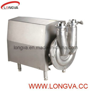 Stainless Steel Cip Self-Priming Pump for Milk, Liquild pictures & photos