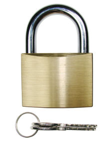 High Quality Brass Padlock W/Hardened Shackle (265) pictures & photos