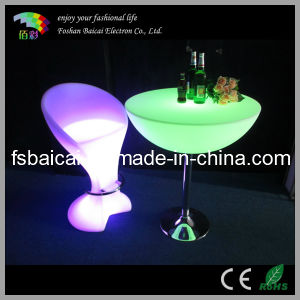 Light up Bar Table Bcr-313t with Remote Control