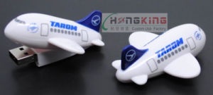 Custom New 3D Airplane USB Pen Drive