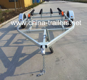 Double Galvanized Jet Ski Trailer pictures & photos