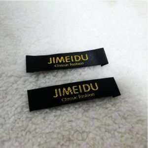 High Quality Woven Fabric Clothing Label for Garment pictures & photos