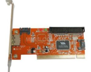 VIA VT6421A 3-Port SATA/eSATA & IDE Controller PCI Card