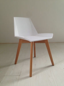 White Plastic Dining Chairs pictures & photos