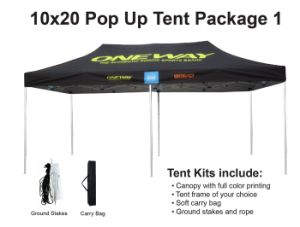 10X20 Ez Pop up Custom Tent Canopy Camping Gazebo pictures & photos