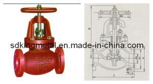 Shipbuilding Cast Iron 5k Globe Valves pictures & photos