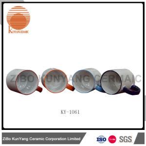 11oz Color Rim and Color Handle Sublimation Mug pictures & photos