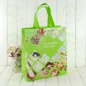 3D Auto-Forming with PS Coating Can Hold 20kg Customised Print Recycable Non Woven Bag (My-031) pictures & photos