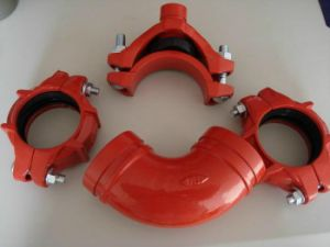 Grooved Pipe Fittings for Fire Protection pictures & photos