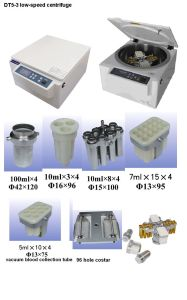 Automatic Balance / Self Poise / Blood Bank Low-Speed Centrifuge (DT5-3) pictures & photos