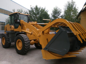 China Export Zl36 Wheel Loader 3ton Rated Load Bucket Cheap Price Front End Loader pictures & photos