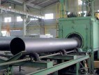 Steel External Pipe Blast Cleaning Machine