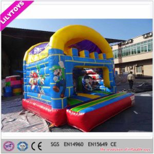 Lilytoys Mini Double Stitching Inflatable Bounce House for Baby pictures & photos