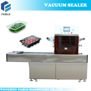 2017 Automatic Map Tray Sealer Machine for Meat pictures & photos