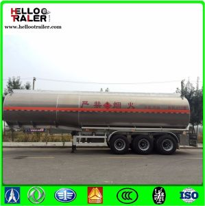 45cbm Tri Axle Stainless Steel Fuel Tanker pictures & photos