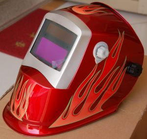 Auto-Darkening Welding Helmet 5, 000 Welding Hours Mask (S8006) pictures & photos