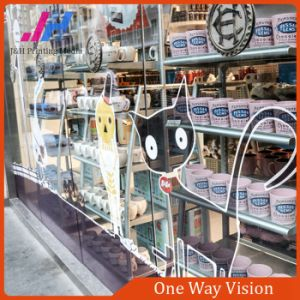 PVC Self Adhesive One Way Vision for Window Film pictures & photos