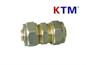 Brass Pipe Fitting of Equal Straight Connector pictures & photos