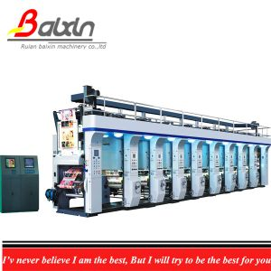 Full Automatic Register Color Gravure Printing Machine High Quality pictures & photos