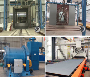 Shot Blast Cleaning Machine for Metal Parts Surface pictures & photos