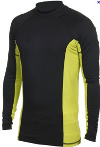 Men′s Long Sleeve Lycra Rash Guard Swimwear Sport Suits pictures & photos