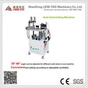 End-Milling Machine with 35-90 Degree Adjustable Processing Angle for Aluminum pictures & photos