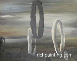 HQ Abstract Oil Painting (4)