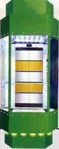 Hydraulic Panoramic Elevator (TKJ700/1.0-JXW)