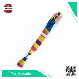Satin Heat Printing Wristbands for Festival pictures & photos