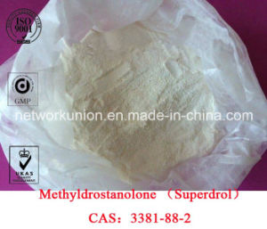 Anabolic Androgenic Steroids Methyldrostanolone (Superdrol, Methasteron) CAS 3381-88-2 pictures & photos
